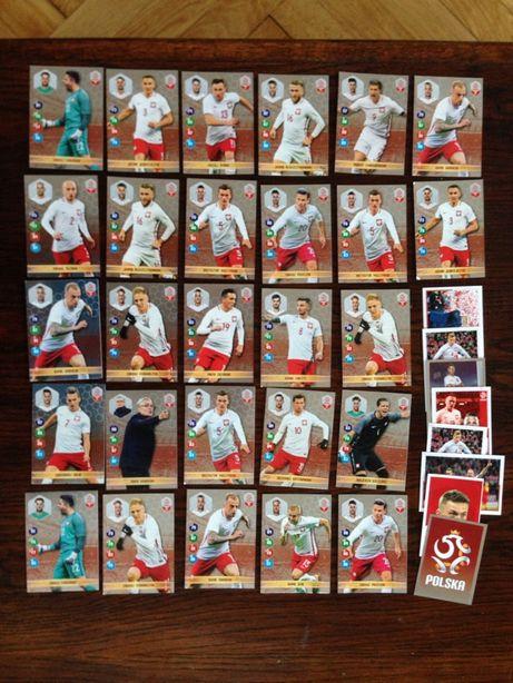 Karty z piłkarzami Nawałki Dumni z Naszych