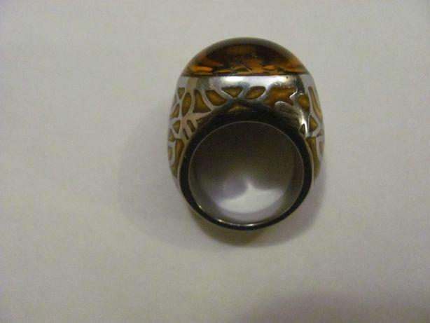 Перстень женский кольцо принт леопард