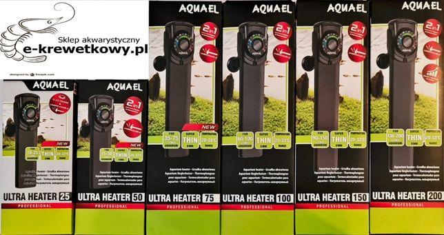 Aquael Grzałka nie tłukąca się 25w z termometrem 2w1
