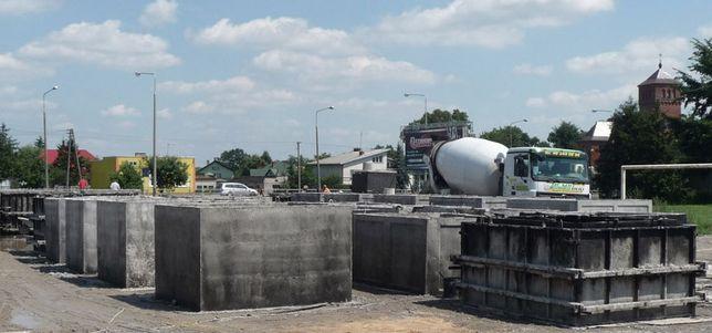 Zbiornik betonowy na szambo,Szamba betonowe,Zbiorniki na deszczówkę