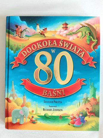 Książka dookoła świata w 80 basni dla dzieci