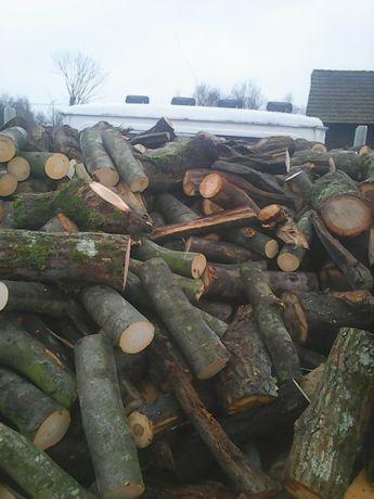Drewno opałowe gałęziówka