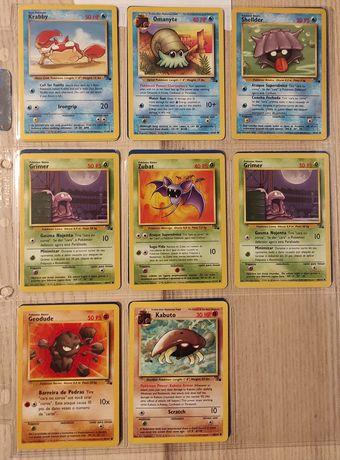 Cartas Pokémon Fóssil Set
