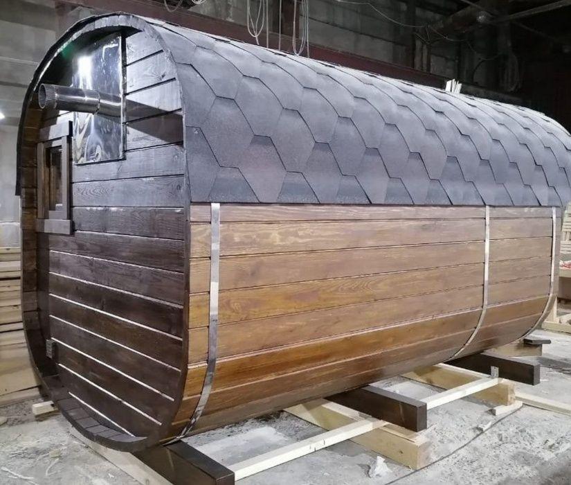 Баня-бочка-квадро Гарантия от производителя и доставка Киев - изображение 1
