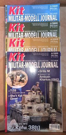 Magazine: Kit Militär-Modell Journal Nr 2,3,4,6 /2009