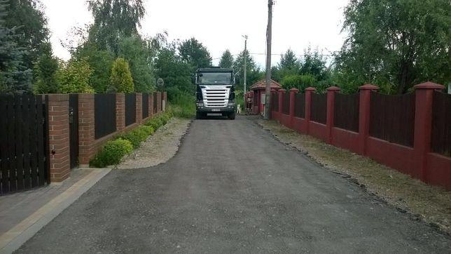 Kruszywo asfaltowe asfalt kruszony kruszonka asfaltowa destrukt 1-27 T