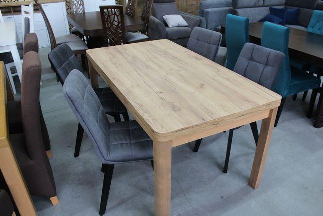 Stół Dąb Craft Złoty + Krzesła Wyprzedaż
