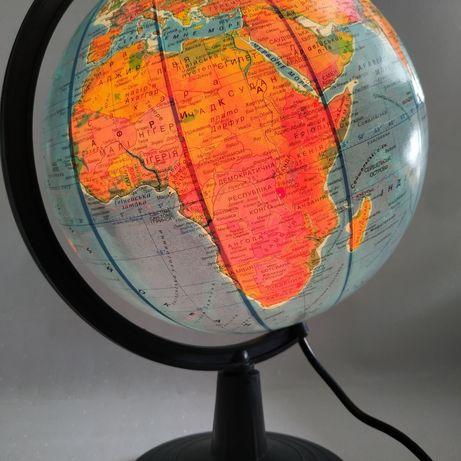 Глобус нічник Глобус с подсветкой Глобус Фізичний Географічний Новий