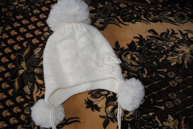 Зимняя шапочка 2-3 года