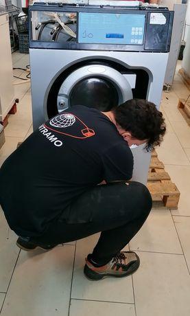 Máquina de lavar roupa industrial 10kg
