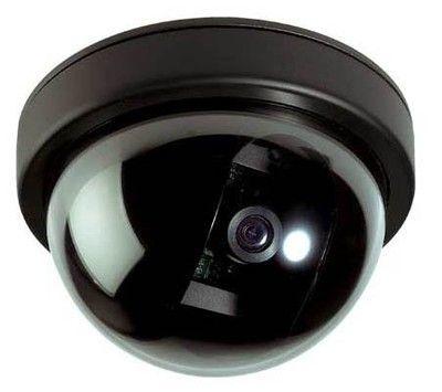 ATRAPA kamery przemysłowej KAMERA KOPUŁKA z LED