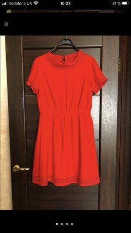 Красное платье Mint & Berry