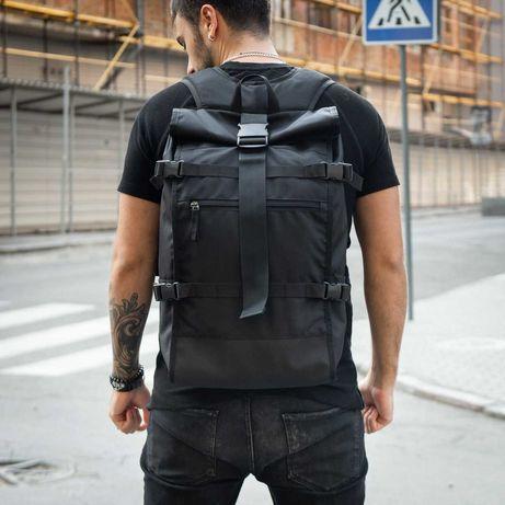 Городской рюкзак роллтоп мужской rolltop roll сумка для ноутбука 61