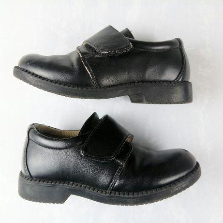 Buty dla małego Elegancika / buciki skórzane wizytowe / Bobbi Shoes 27