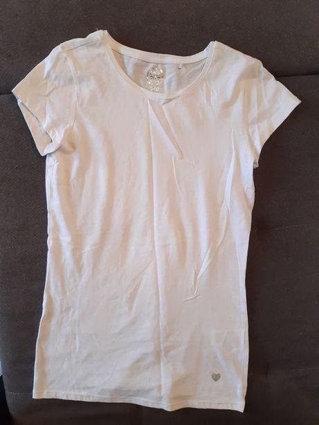 Biala koszulka Nowa Smyk