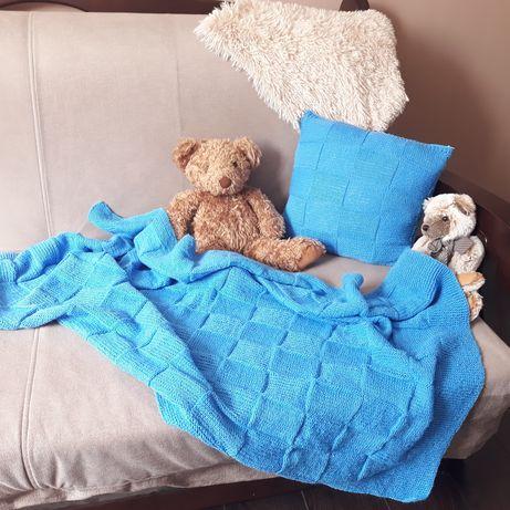 Детский плед и подушка,  детский комплект