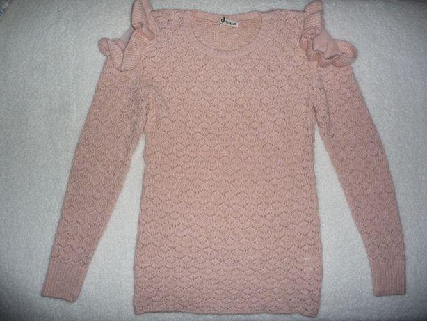 Sweter ażurowy Tezenis S