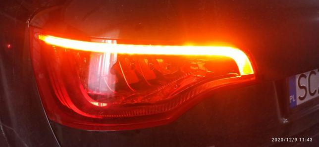 Lampa lewy tyl Audi Q7 lift led