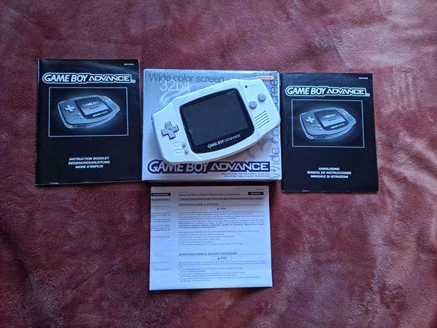 Gameboy Advance IPS V2 w pudełku jak nowy.