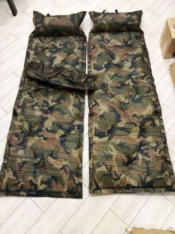 Самонадувной Каремат. Туристический матрас надувной Коврик в палатку
