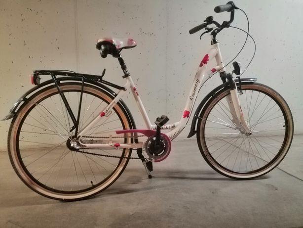 Rower miejski, damski 28 cali