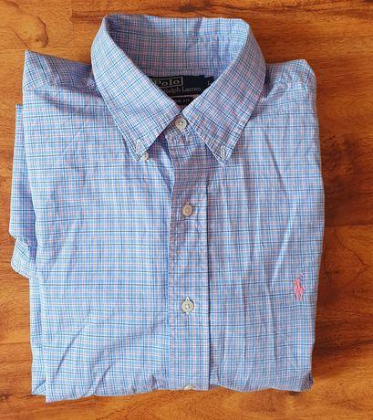 Polo by RALPH LAUREN rozmiar L CLASSIC FIT koszula z kołnierzykiem