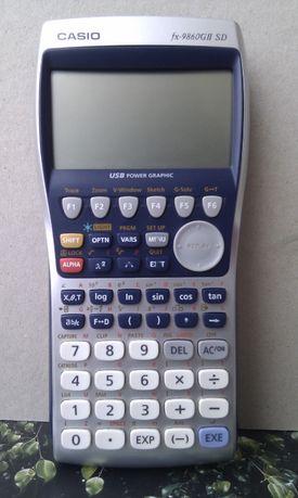 Calculadora Gráfica Casio FX-9860GIISD(B)