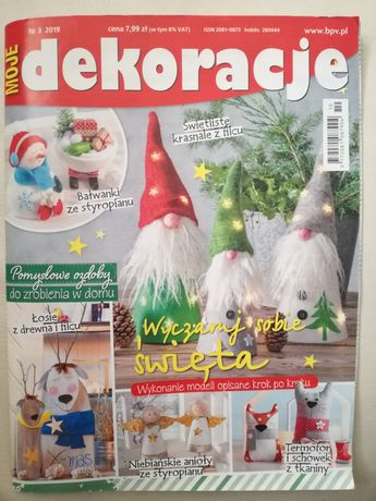 Moje Dekoracje gazeta czasopismo prace plastyczne robótki ręczne hobby