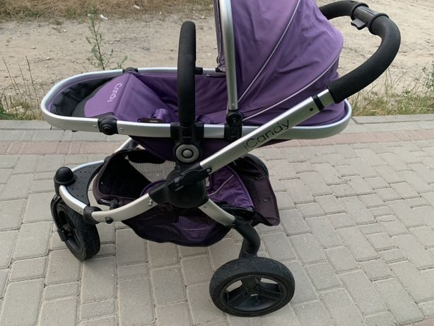 Дитяча коляска 2 в 1 iCandy Peach Jogger + з сумкою Loganberry Детская