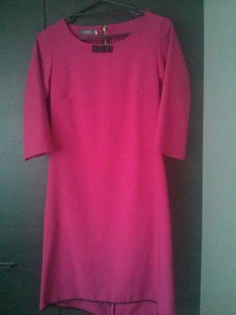 Sukienka ciemno różowa rozmiar 38