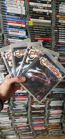 PS3 Need for speed carbon нид фор спид карбон пс3 диск игр б/у sony