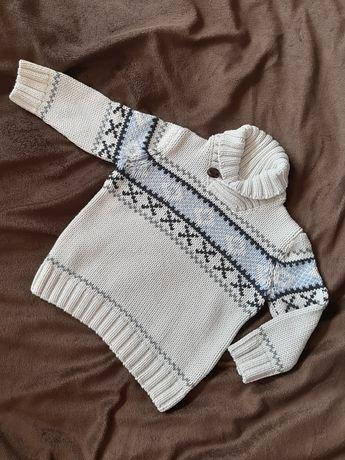 Sweterki chłopięce dzianinowe