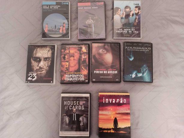 Vendo DVDs variados (filmes e séries)