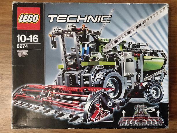 Lego Technic 8274 klocki zestaw 2 modele Kombajn zbożowy