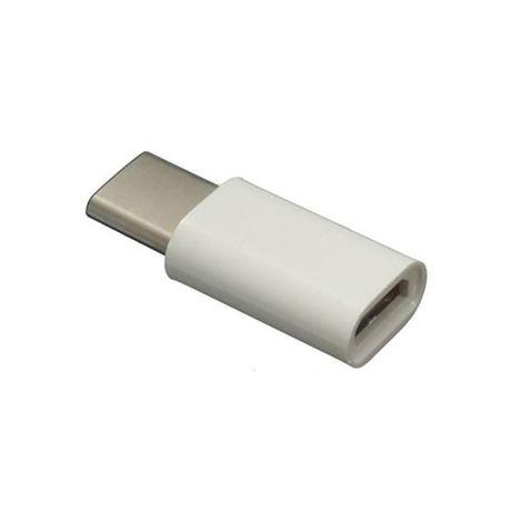 microUSB(мама)-USB TypeC USB 3.1(папа) адаптер для зарядки