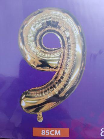 Balon 9 urodziny 85cm