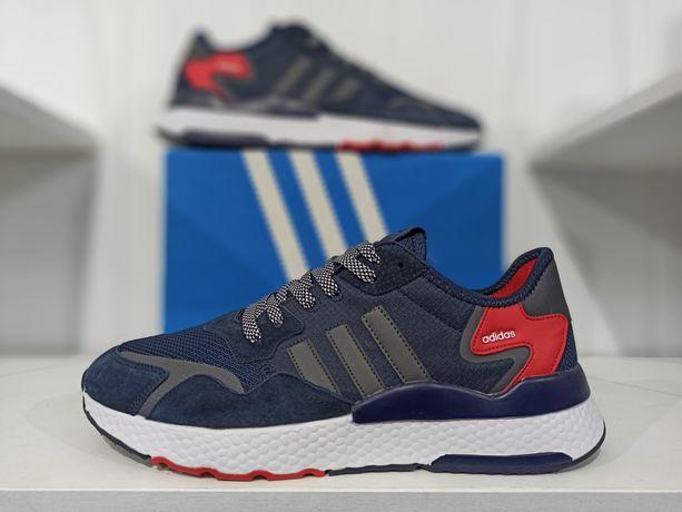 Кроссовки Adidas Nite Jogger Boost синие