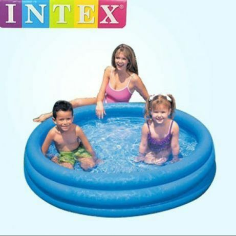 Басейн для детей Intex Blue Crystal 170x65cm