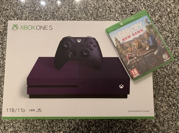 Xbox One S 1TB - versão Fortnite