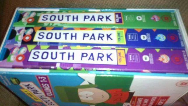 conjunto de 3 cassetes vhs - south park