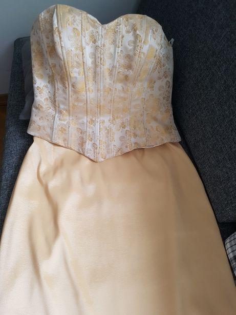 Suknia ślubna/weselna (gorset i spódnica)