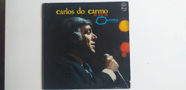Carlos do Carmo Ao Vivo no Olympia Vinil LP