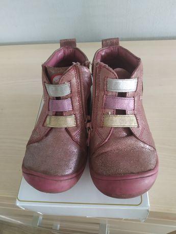Trzewiki dziewczęce r. 24 buty na jesień Sergio Bardi skórzane