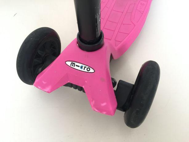 Hulajnoga Maxi Micro różowa, od 5 lat