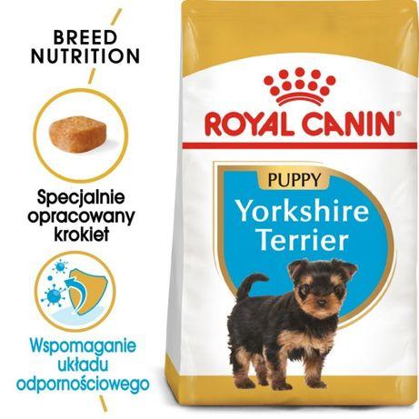 Karma dla psa Royal Canin Yorkshire Junior 7,5kg OKAZJA !!!