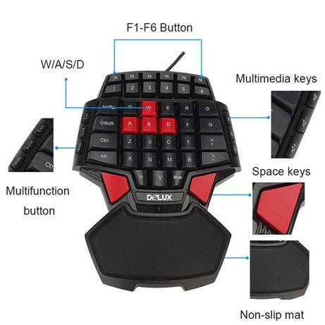 Профессиональная игровая клавиатура Delux T9 для ПК