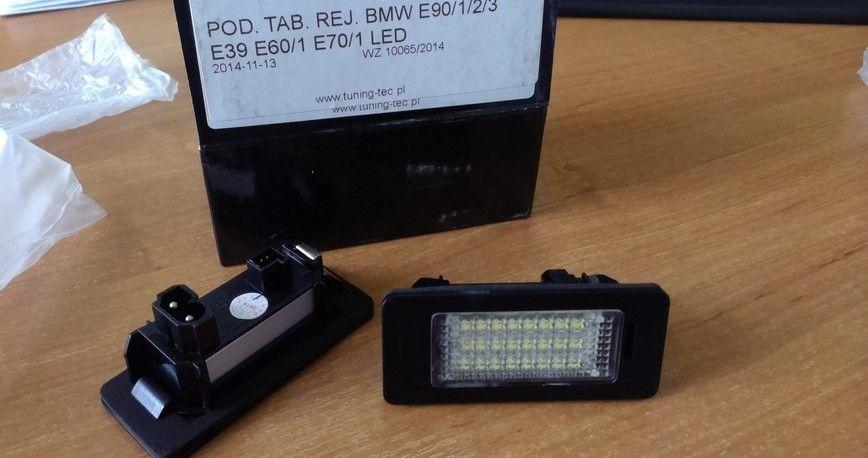 LED подсветка номера BMW F15, E70, E71, F25, F10, E60, E39, F34, F30 Луцк - изображение 1