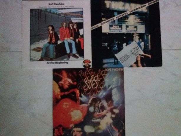 Discos vinil LP´s Soft Machine, Steve Hillage, Sky