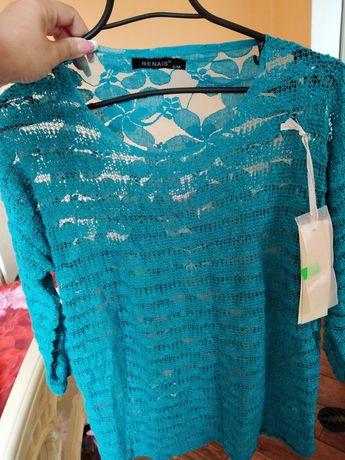 Кофта нова, блуза, блузка розмір S-M
