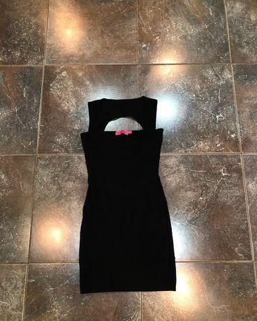 Платье вечернее черное не Zara